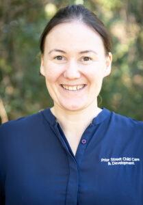 Prior Street Child Care Centre Staff - Celine